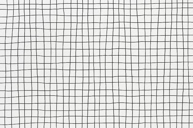 Vecteur de fond de grille en couleur noire