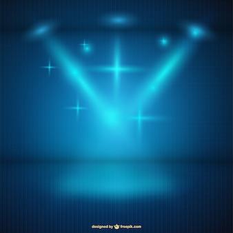 Vecteur fond de lumière