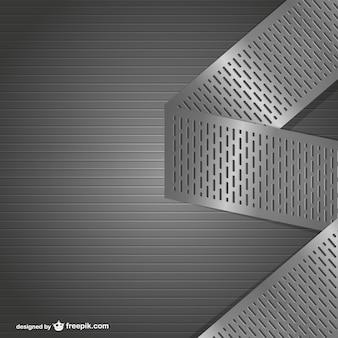 Vecteur de fond en métal texture