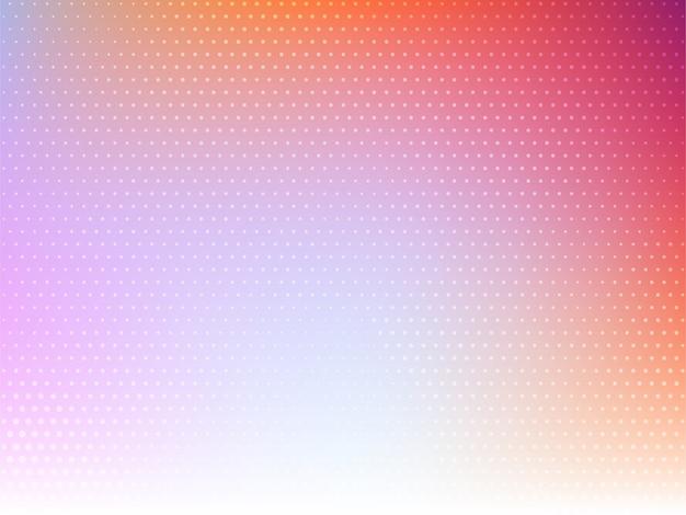 Vecteur de fond moderne abstrait demi-teinte coloré