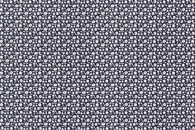 Vecteur De Fond De Motif Floral, Remixé à Partir D'œuvres D'art De Charles Goy Vecteur gratuit