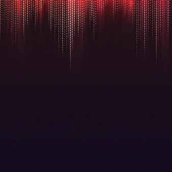 Vecteur de fond à motifs rouge et noir