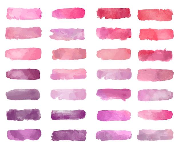 Vecteur de fond de patch aquarelle coloré