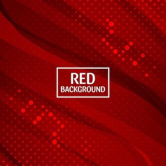 Vecteur de fond rouge abstrait
