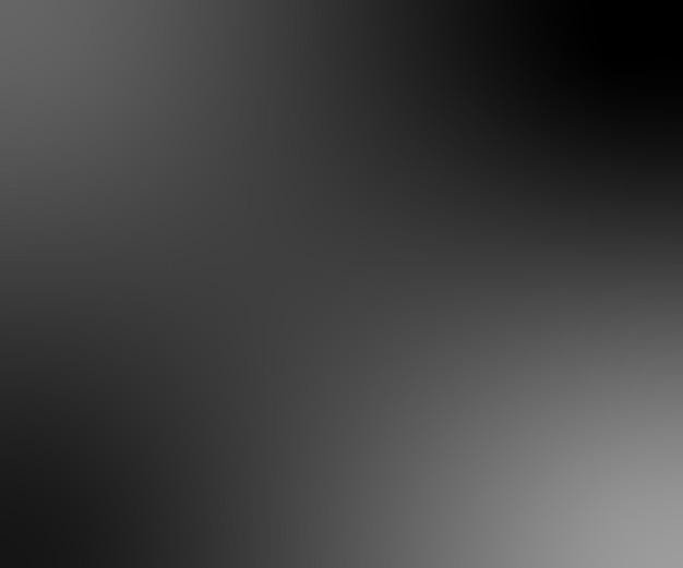 Vecteur de fond de studio dégradé abstrait noir et blanc