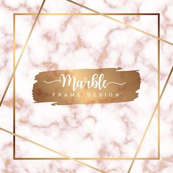 Vecteur de fond texturé en marbre rose