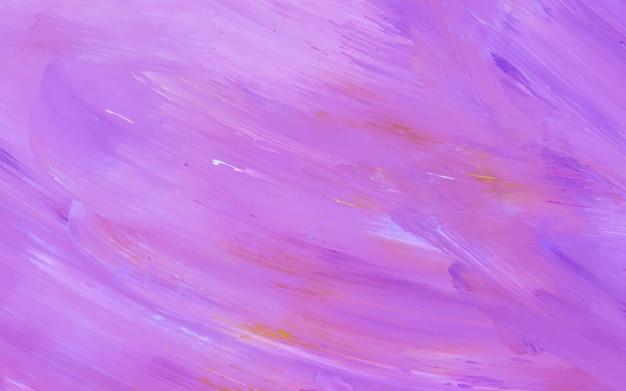Vecteur de fond texturé violet pinceau acrylique abstraite