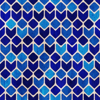 Vecteur funky retro seamless pattern