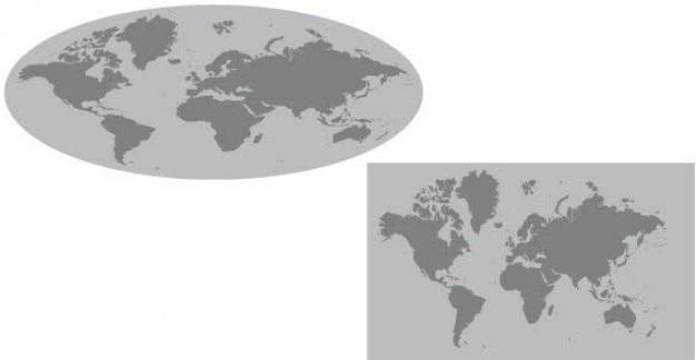 Vecteur globe