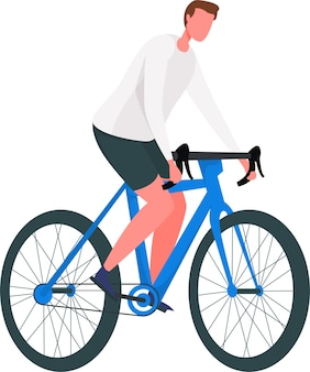 Vecteur gratuit d'illustration de la journée mondiale du vélo dessinés à la main