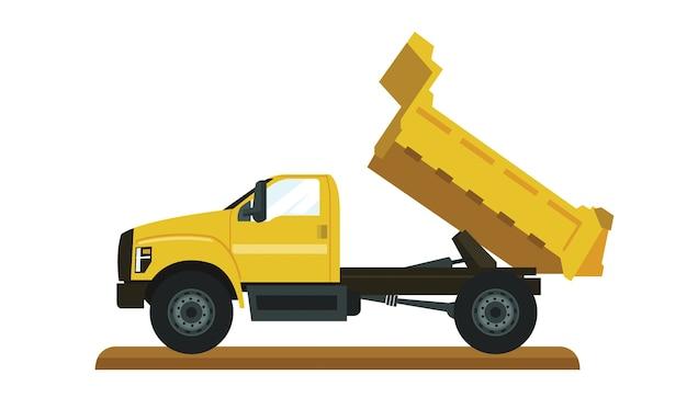 Vecteur gros camion benne