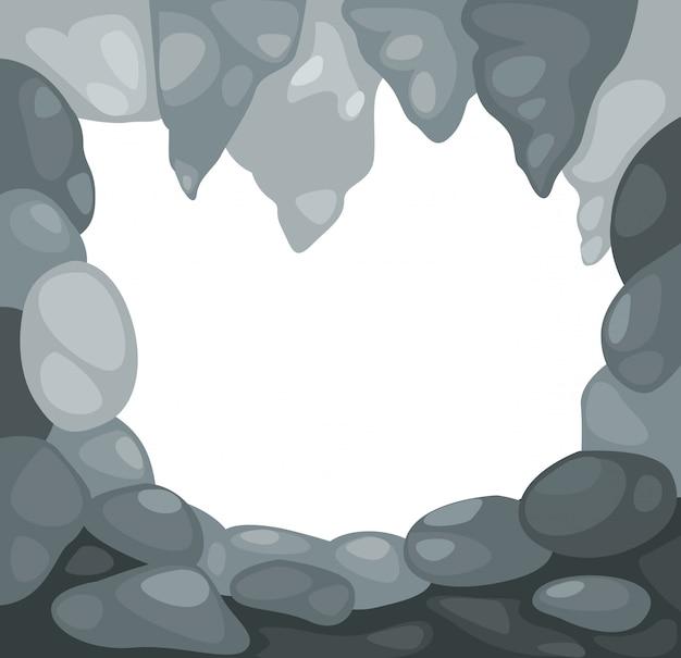 Vecteur de la grotte