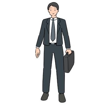 Vecteur d'homme d'affaires
