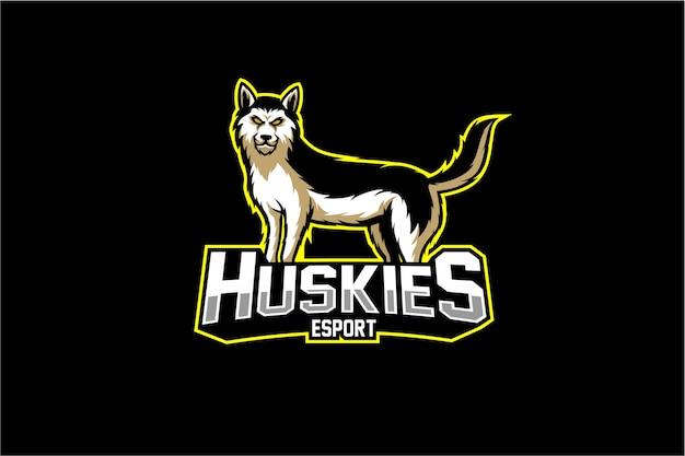 Vecteur husky