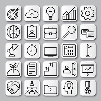 Vecteur d'icône d'information
