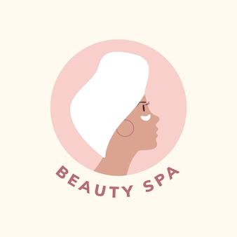 Vecteur d'icône spa et beauté
