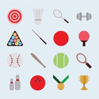 Vecteur d'icône de sport