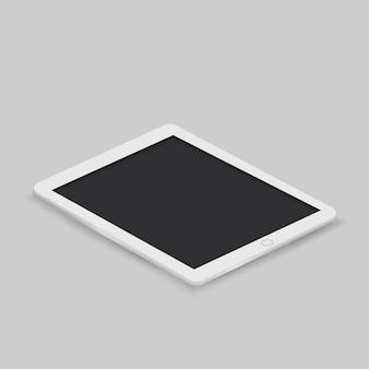 Vecteur de l'icône de la tablette numérique