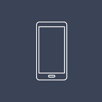 Vecteur de l'icône de téléphone portable