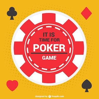 Vecteur de jeton de poker