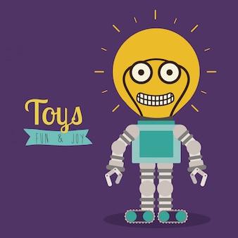 Vecteur de jouets