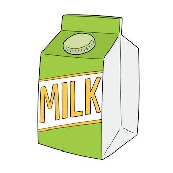 Vecteur de lait