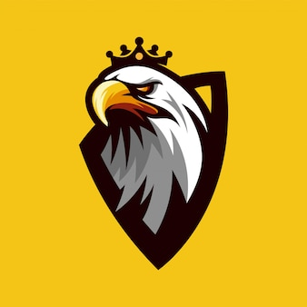 Vecteur de logo aigle
