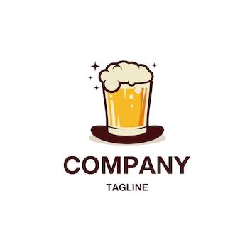 Vecteur de logo brasserie magique