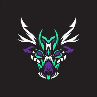 Vecteur de logo de cerf