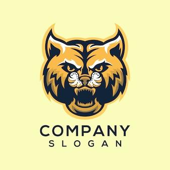 Vecteur de logo chat