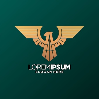 Vecteur de logo eagle