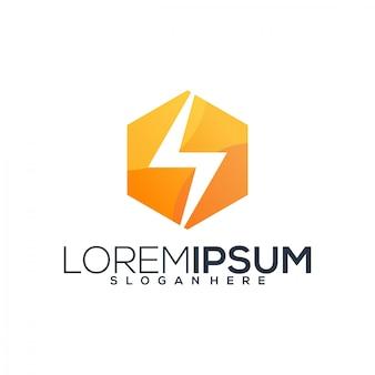 Vecteur de logo énergie