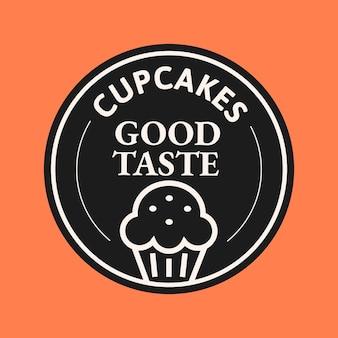 Vecteur de logo d'entreprise de boulangerie dans un style mignon de griffonnage