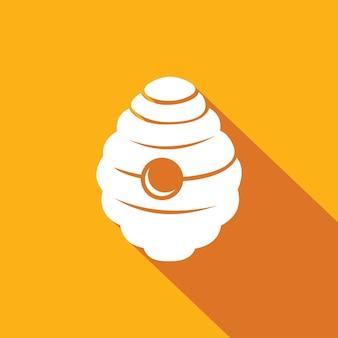 Vecteur de logo icône ruche