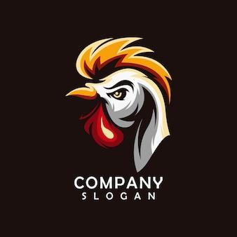 Vecteur de logo de poulet