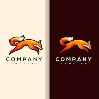 Vecteur de logo renard