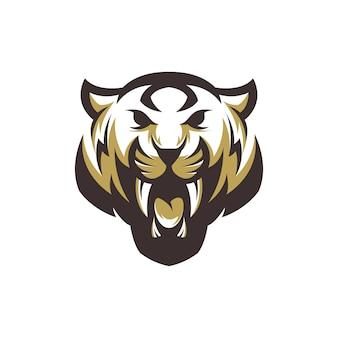 Vecteur de logo de tigre