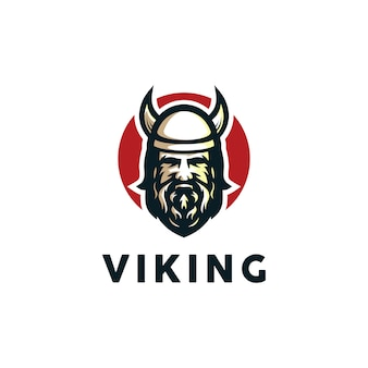 Vecteur de logo viking