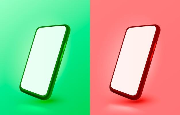 Vecteur de lumière d'affichage mobile de technologie d'écran mobile de couleur de smartphone