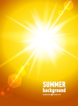 Vecteur de la lumière du soleil