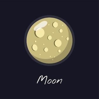 Le vecteur de la lune