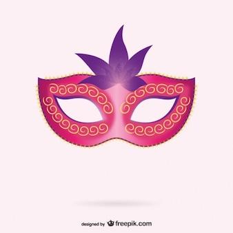 Vecteur de masque vénitien