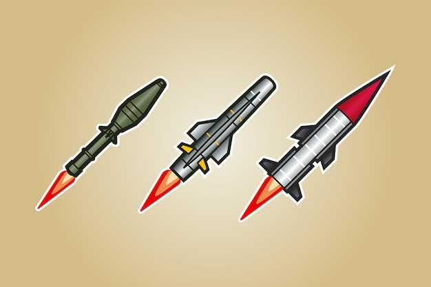 Vecteur de missile de fusée