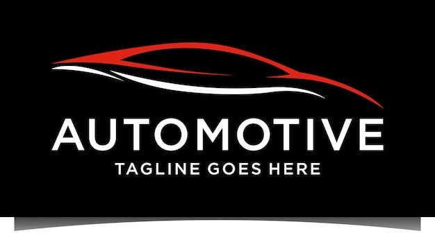 Vecteur de modèle de logo automobile voiture