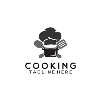 Vecteur de modèle de logo de cuisine. logo de cuisine pour les entreprises