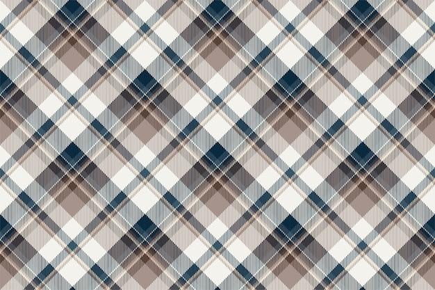 Vecteur de motif écossais sans couture ecosse tartan.