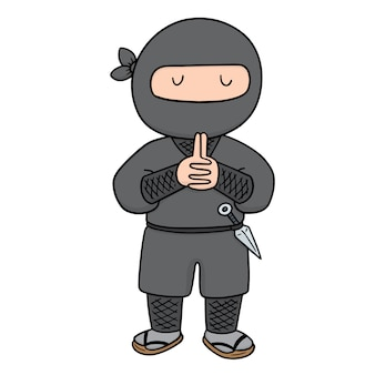 Vecteur de ninja