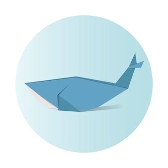 Vecteur d'origami animal
