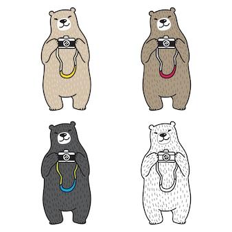Vecteur d'ours