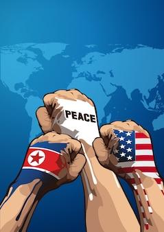 Vecteur de paix
